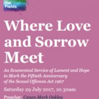 love and sorrow flyer