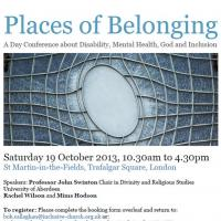 places of belonging poster