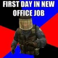 first day in teh job
